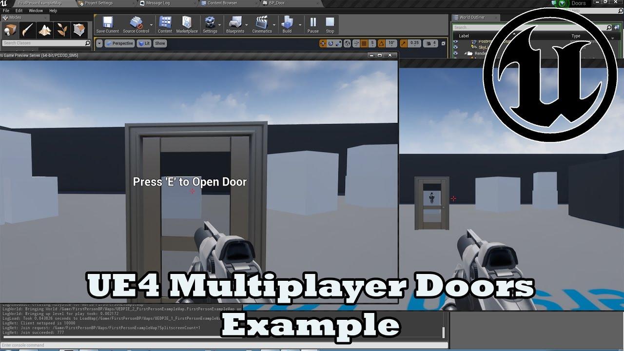 Unreal engine 4151 multiplayer doors example devinleveldesign unreal engine 4151 multiplayer doors example devinleveldesign malvernweather Image collections