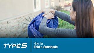 How to Fold a Sunshade