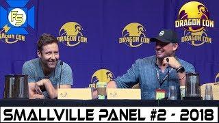 smallville panel 2 tom welling michael rosenbaum dragon con 2018 fixed