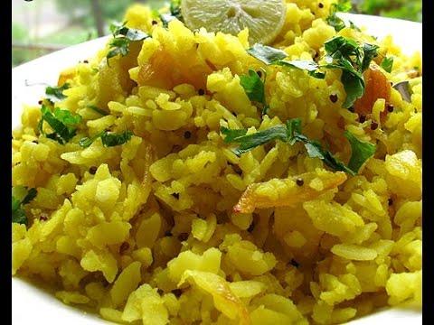 poha (flattened rice) / அவல் உப்புமா