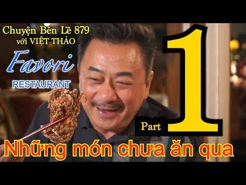 MC VIỆT THẢO- CBL(879)-FAVORI RESTAURANT (Part 1)-NHỮNG MÓN CHƯA ĂN QUA-May 30, 2019.