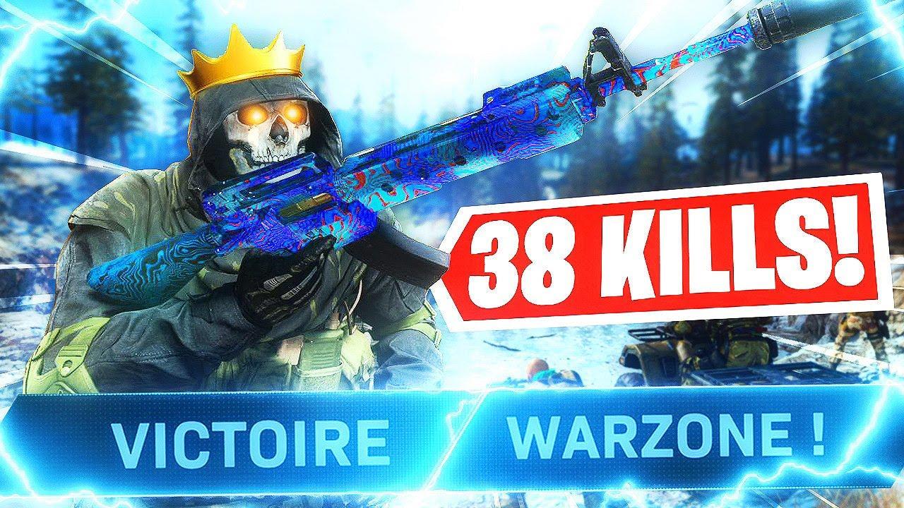 NOUVEAU RECORD DE KILLS WARZONE SAISON 5 ! (38 KILLS...)