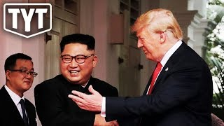 Trump Getting Too Friendly With Kim Jong-Un?