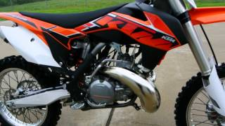 $7,199 2014 KTM 250SX 2 Stroke Motocross Bike Overview