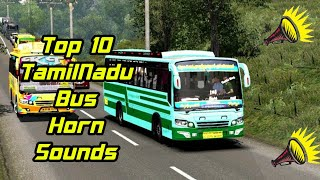 Top 10 Tamilnadu Tourist Bus Horns For Bussid    How To Chenge Horn Sounds on Bussid in தமிழ் 🥰