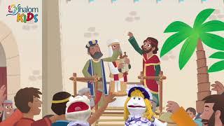 NEEMIAS E A RECONSTRUÇÃO DOS MUROS | SHALOM KIDS
