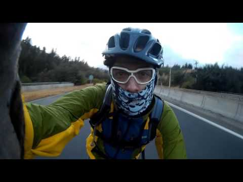 Santiago a Valparaíso en Bicicleta EL MEJOR VIDEO