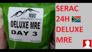 South African Ration Review:  SERAC 24H Deluxe MRE Menu 3