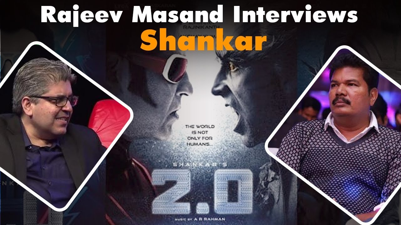 Robot 2.0's Director Shankar Interview With Rajeev Masand | CNN News18