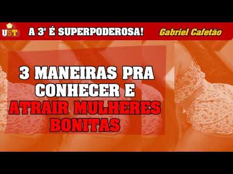 3 MANEIRAS PRA CONHECER E ATRAIR MULHERES BONITAS | Gabriel Cafetão from YouTube · Duration:  6 minutes 56 seconds