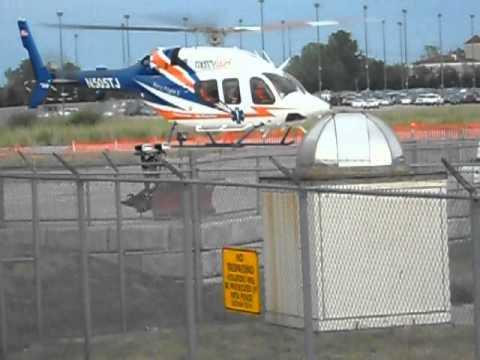 M Bel Airport mercy flight bell 429 n505tj takeoff buffalo niagara int 39 l airport kbuf