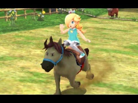 Mario Sports Superstars - Horse Racing - Mushroom & Flower Cup