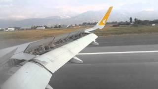 Erzincan Havaalanı'na iniş