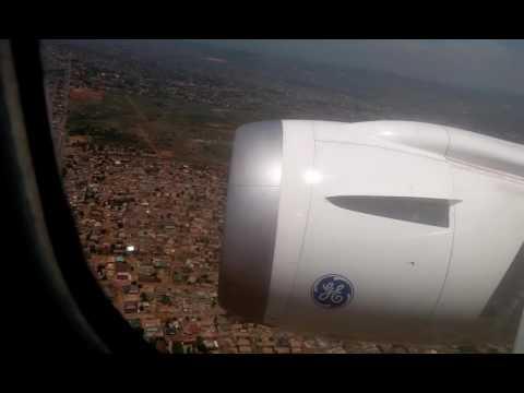 Landing in Accra Ghana