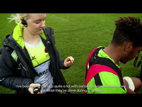 Saracens Academy developing young talent with PLAYERTEK