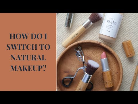 WOMAN SWITCHES TO ORGANIC MAKEUP PRODUCTS