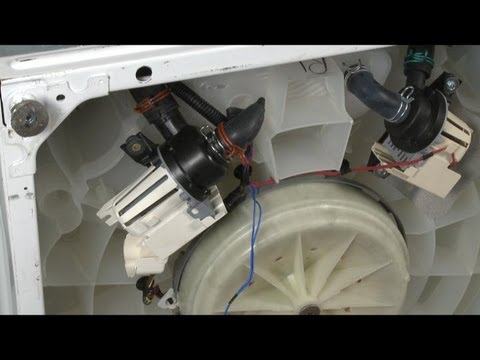 Whirlpool Washer Won T Drain Drain Pump W10536347 Youtube