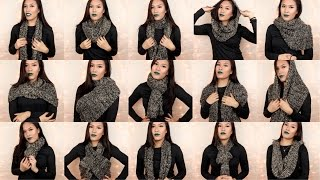 How to: Wear an Infinity Scarf + Mooncats Review | naohms