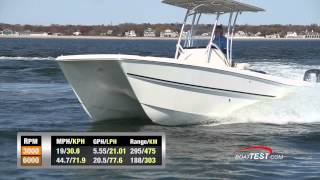 Carolina Cat 23CC BoatTest.com Review
