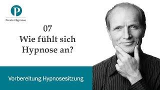 Wie fühlt sich Hypnose an?