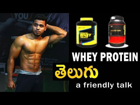 Whey Protein...? a friendly talk with chaitanya krishna (Telugu)
