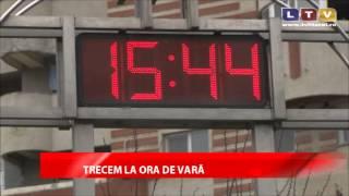 România va trece la ora de vară - Litoral TV