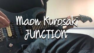 黒崎真音さんのJUNCTION を早速耳コピしてみました。 最後のギターソロ...