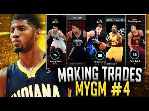 NBA2K16 Pacers MyGM #4 - MAKING SOME TRADES! + DANNY GRANGER RETURNS!!