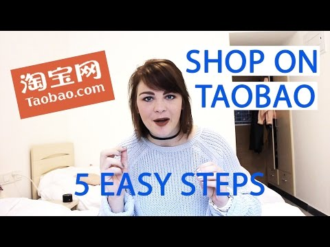 How to Shop on Taobao in China (5 Steps) // 怎么在淘宝买东西