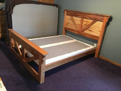 How To Make A Queen Size Bed Frame