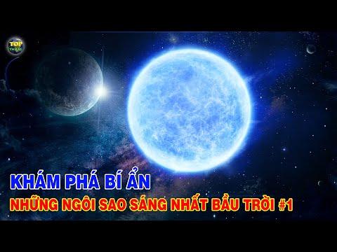 Khám phá Bí ẩn Những ngôi sao sáng nhất trên bầu trời đêm #1 | Khoa học vũ trụ - Top thú vị |