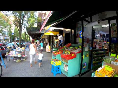 ⁴ᴷ⁶⁰ Walking NYC : Jackson Heights, Queens (Diversity Plaza, Roosevelt Ave, 37th Ave, Northern Blvd)