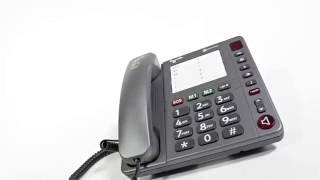 Produktvideo zu Schwerhörigen-Telefon Amplicomms PowerTEL 90