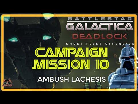 Ghost Fleet Offensive AMBUSH LACHESIS Mission 10  Battlestar Galactica deadlock