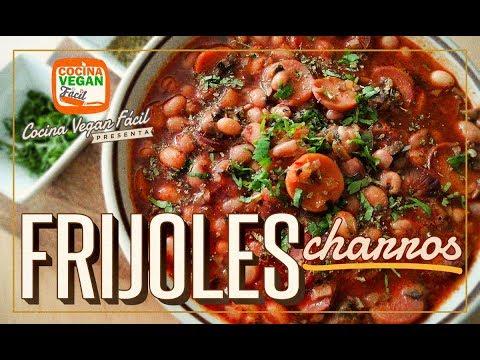 Frijoles charros veganos - Cocina Vegan Fácil