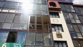 Утепление фасадного остекления в Западном Кунцево, ул. Никольская(, 2016-01-24T21:42:14.000Z)