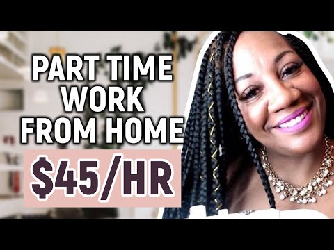 Part Time Work From Home Job (NO EXPERIENCE)