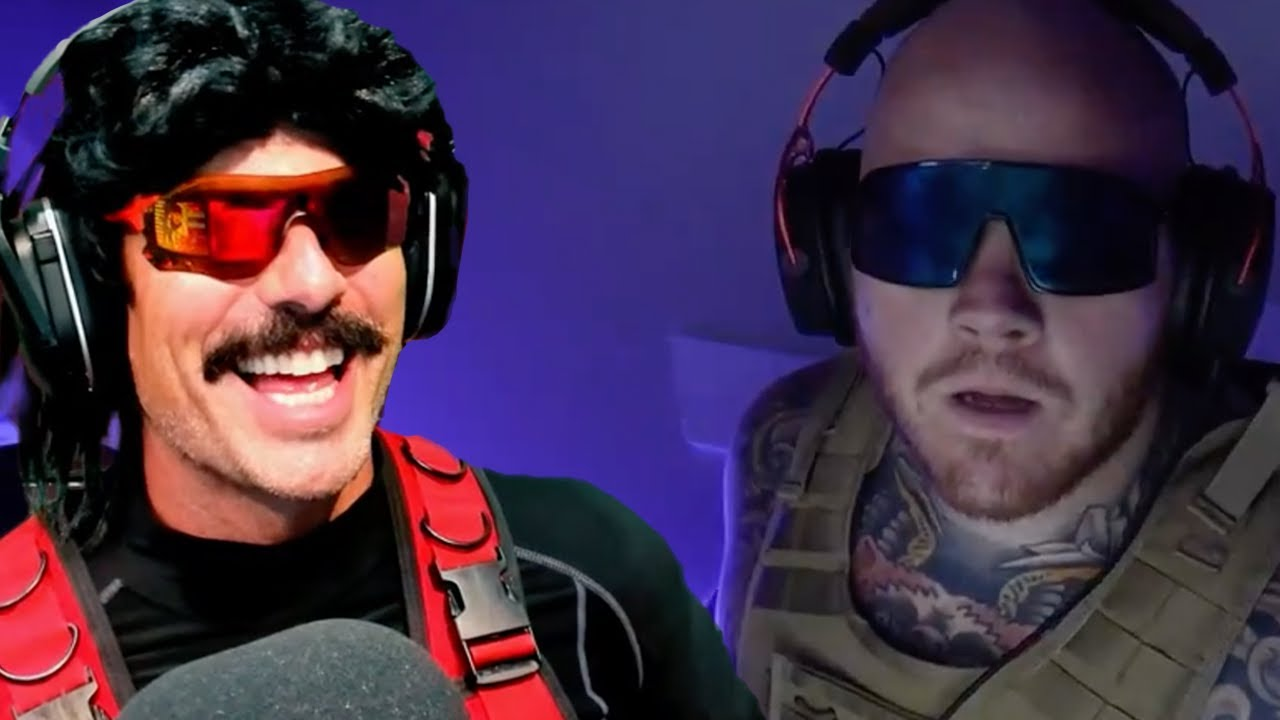 DrDisrespect Reacts to Timthetatman Cosplaying Him LIVE on Twitch!