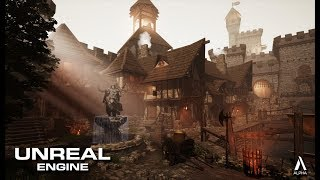 Speed Level Art - Medieval Center - Unreal Engine 4