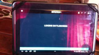 How to get bf4 battle screen running on a tablet