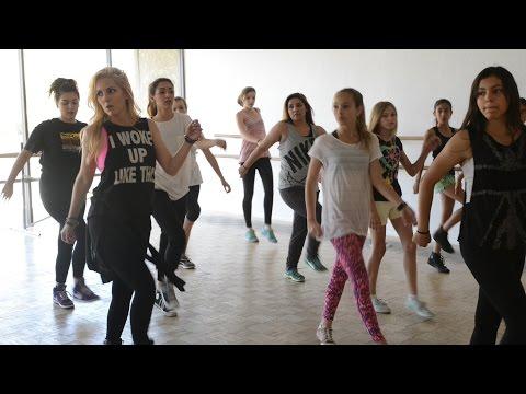 Brawley gets expert dance lesson