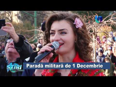 TeleU: Paradă militară de 1 Decembrie
