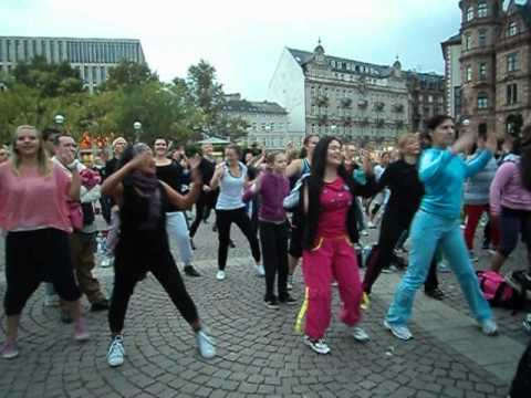 ZUMBA…. open air party…