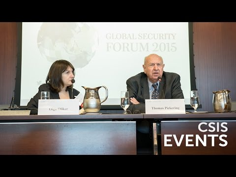 Global Security Forum 2015: Russia's Strategic Vision