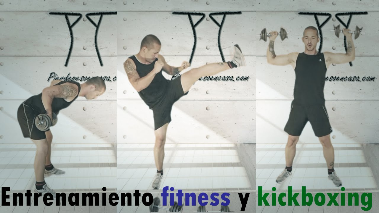 Entrenamiento fitness y kickboxing para adelgazar y for Entrenamiento para adelgazar
