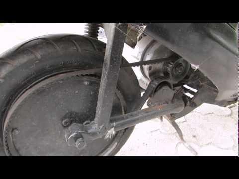 видео: Самодельный электроскутер из honda dio. diy electric scooter from honda dio review