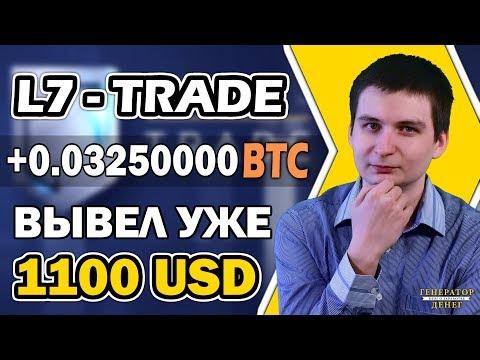 L7 Trade Вывел больше 20 000 рублей сегодня и больше 72 000 за все время!