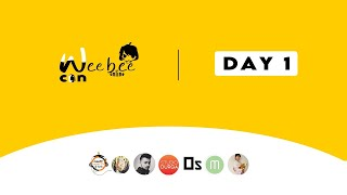 WEEBEE CON ONLINE - DAY 1 ft. @Kreative Ladka @Studio Durga and many more!