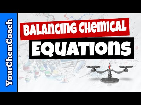 How to Write and Balance a Chemical Equation from Words - Mr. Causey