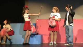 Grease -- Danny, Sandy, Patty Scene